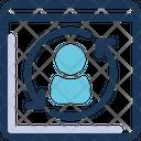 Autoresponder Arrows Website Icon