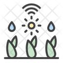 Autowatering Watering Plant Icon