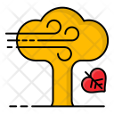 Fall Leaves Tree Icon