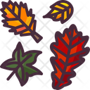 Autumn Leaves Wind Icon