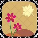 Autumn Fall Flower Icon