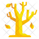 Autumn Tree Botanic Icon