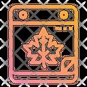 Autumn Date Autumn Season Icon