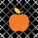 Autumn Flat Apple Icon