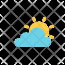 Autumn Flat Cloud Icon