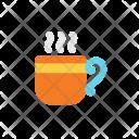Autumn Flat Coffee Icon