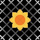 Autumn Flat Flower Icon