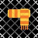 Autumn Flat Scarf Icon