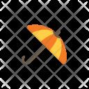 Autumn Flat Umbrella Icon