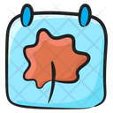 Autumn Season Calendar Planner Icon
