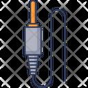 Aux Cable Aux Pin Aux Icon