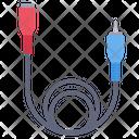 Aux Cable Audio Jack Cable Icon