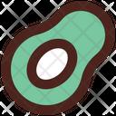 Avacado Food Fruit Icon