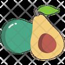 Avacado Fruit Healthy Icon