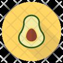 Avacado Fat Fruit Icon