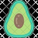 Avacado Food Eating Icon