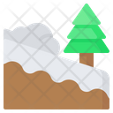 Avalanche Natural Disaster Snow Icon