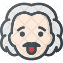Avatar Head Einstein Icon