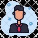 Avatar People Businessman Icon