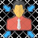 Avatar Businessman Manager Icon
