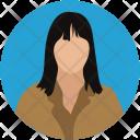 Avatar Student Girl Icon