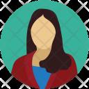 Avatar Female Girl Icon