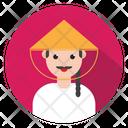 Avatar Tourist Man Icon