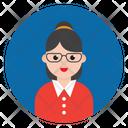 Avatar Girl Teacher Icon