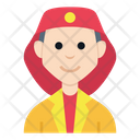 People Character Avatar Smile Flat Icon