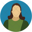 Avatar Blonde Female Icon
