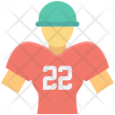 Avatar Player Rugby Icon