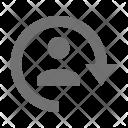 Avatar Refresh User Icon