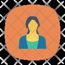 Avatar Female Businesswomen Icon