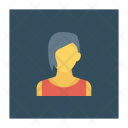 Avatar Younglady Worker Icon