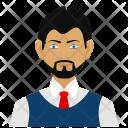 Avatar Business Man Icon