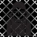 Lady Female User Icon