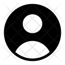 Avatar Icon in Glyph Style
