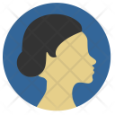 Lady Woman Skin Icon
