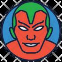 Avenger Vision Villain Warrior Icon