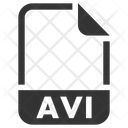 Avi Document File Icon