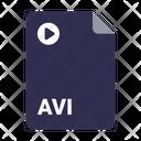 File Format Avi Icon