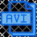 Avi File File Type Icon
