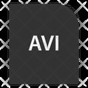 Avi File Document Icon