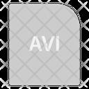 Avi Extension File Icon