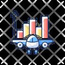 Aviation Analytics Aviation Industry Icon