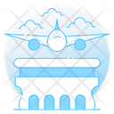 Aviation Law Aeroplane Law Aviation Justice Icon