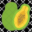 Avocado Pear Fruit Icon