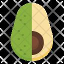 Avocado Fruit Vegetarian Icon