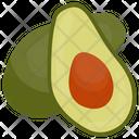 Avocado Pear Healthy Icon
