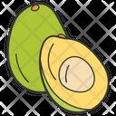 Avocado Healthy Diet Healthy Food Icon